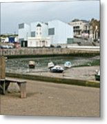 The Turner Contemporary Gallery - Margate Harbour Metal Print