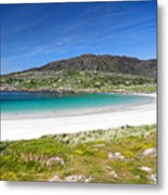 The Turquoise Water Of Dogs Bay Roundstone Ireland Metal Print