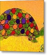 The Turtle In Lighter Colors Metal Print