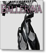 The Twirling Ballerina Cover Art Metal Print