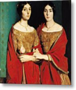 The Two Sisters Metal Print