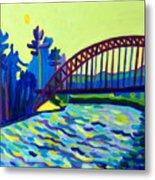 The Tyngsborough Bridge Metal Print