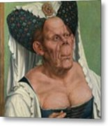 The Ugly Duchess, By Quentin Matsys Metal Print