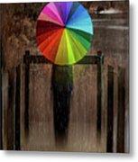 The Umbrella Metal Print