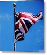 The Flag Of Great Britain Metal Print