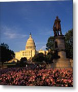 The United States Capitol, Washington Metal Print