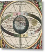 The Universe Of Ptolemy Harmonia Metal Print by Science Source