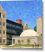 The University Of Toledo Metal Print