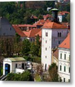 The Upper Town Metal Print