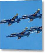 The Usn Blue Angels Metal Print