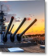 The Uss Missouri's Last Days Metal Print