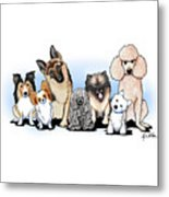 The Usual Suspects 3 Metal Print