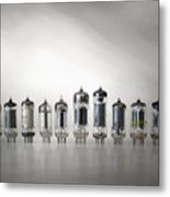 The Vacuum Tube Metal Print
