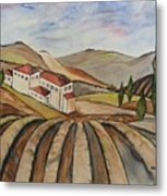 The Valley Of Jesrael Metal Print