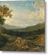 The Valley Of The Clyde Metal Print