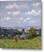 The Valley Of The Seine At Saint Cloud Metal Print