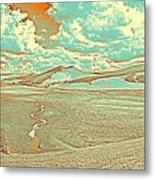 The Valley Of Winding Snake River Metal Print