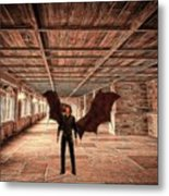 The Vampire Abode Metal Print