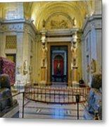 The Vatican Museum In The Vatican City Metal Print