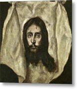 The Veil Of Saint Veronica Metal Print