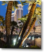 The Venetian Hotel And Casino Las Vegas Metal Print