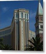 The Venetian, Las Vegas Metal Print