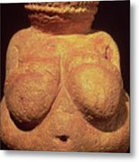 The Venus Of Willendorf Metal Print