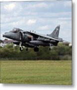 The Vertical Take-off Metal Print
