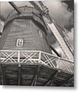 The Viby Windmill Metal Print