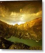 the view from Guadalest Metal Print