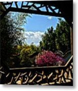 The View From The Window Metal Print