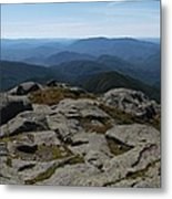 The View North From Mt. Marcy Metal Print