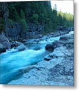 The View Of A River Metal Print