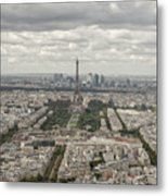The View Of The Tower Metal Print