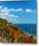 The View - Scarborough Bluffs Metal Print