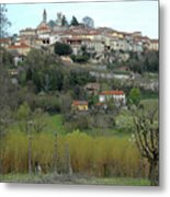 The Village And The Countryside Metal Print