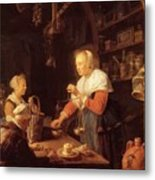The Village Grocer 1647 Metal Print