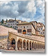 The Village Of St. Francis Of Assisi Metal Print