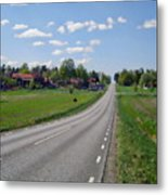 The Village Of Stjarna Metal Print