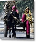The Village Women  Metal Print