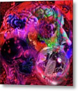 The Violent Mind Metal Print