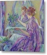 The Violet Kimono 1911 Metal Print