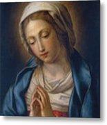 The Virgin At Prayer Metal Print by Il Sassoferrato