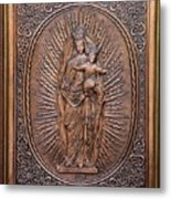 The Virgin Mary With Jesus Christ Metal Print