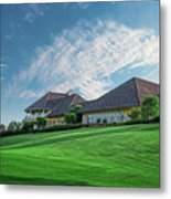 The Virtues Golf Course Clubhouse Metal Print