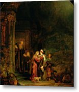 The Visitation Metal Print