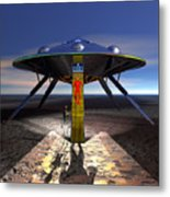 The Visitor 5 - Renfo Disembarks Metal Print
