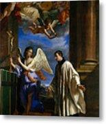 The Vocation Of Saint Aloysius Gonzaga Metal Print