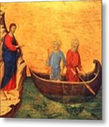 The Vocation Of The Apostle Peter Fragment 1311 Metal Print