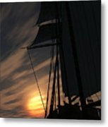 The Voyage Home  Metal Print